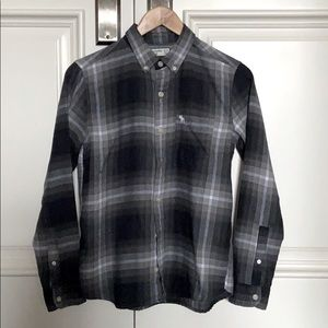 Abercrombie Kids Flannel Button Up Shirt 13/14
